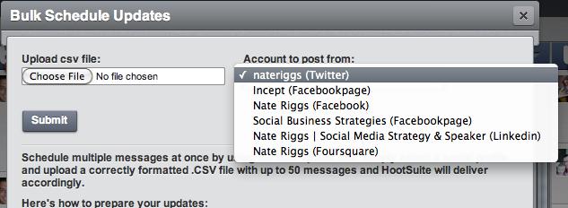 Hootsuite Accounts