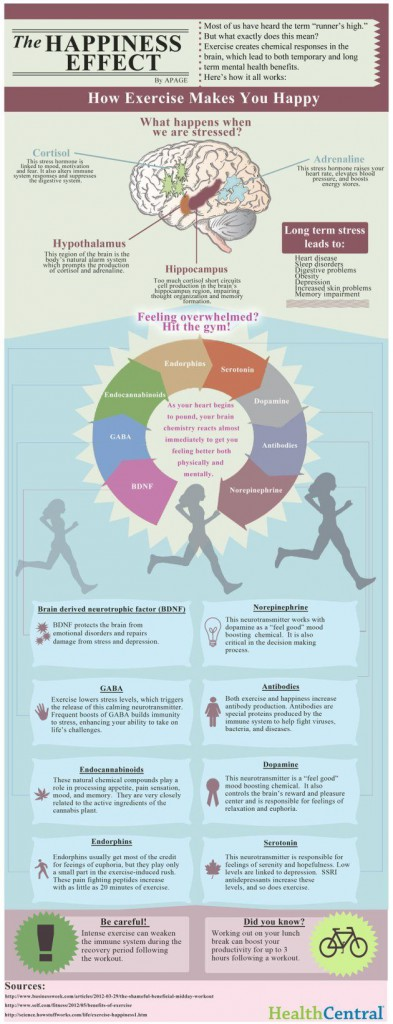happiness effect effective infographic