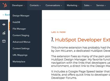 hubspot developer chrome extension | best chrome extensions