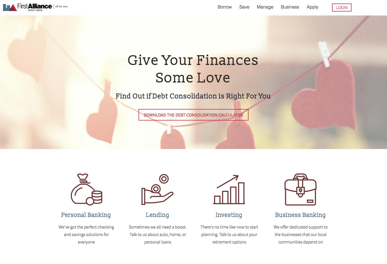 credit union marketing case study