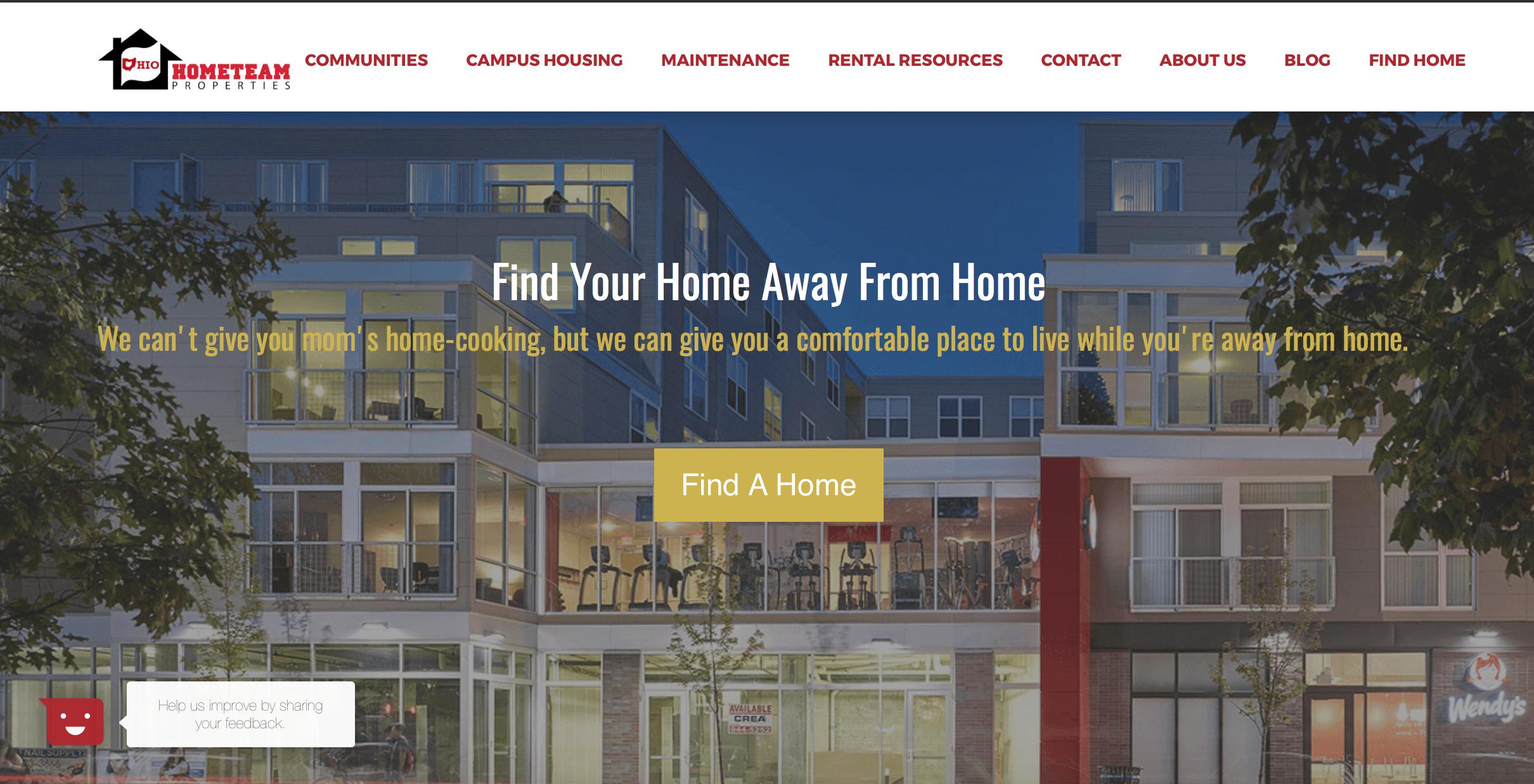 hometeam properties case study