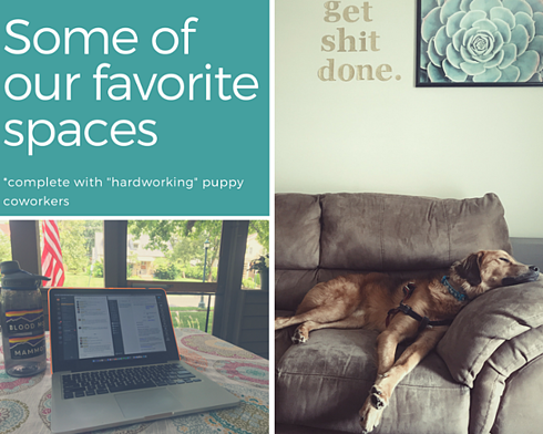 Remote Working - home office examples
