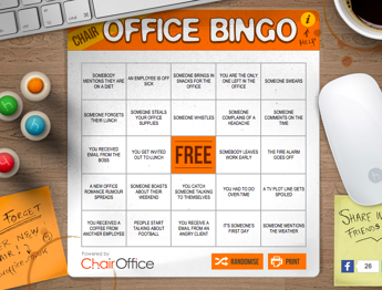 office bingo chairoffice