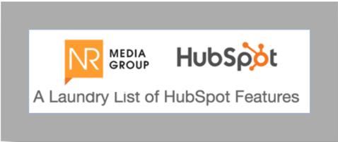 List of HubSpot Features