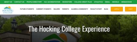 Digital Transformation at Hocking College