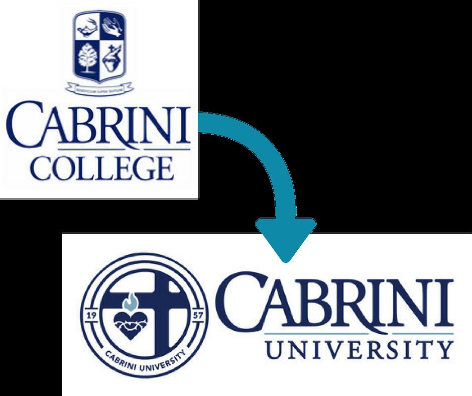 celia cameron cabrini university rebrand | higher education rebrand