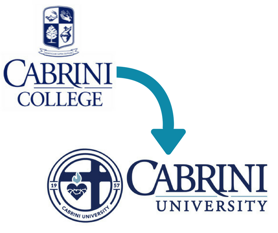 celia cameron cabrini university rebrand | higher education rebrand