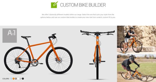 roll bikes successful ecommerce business custom bike manufacturer