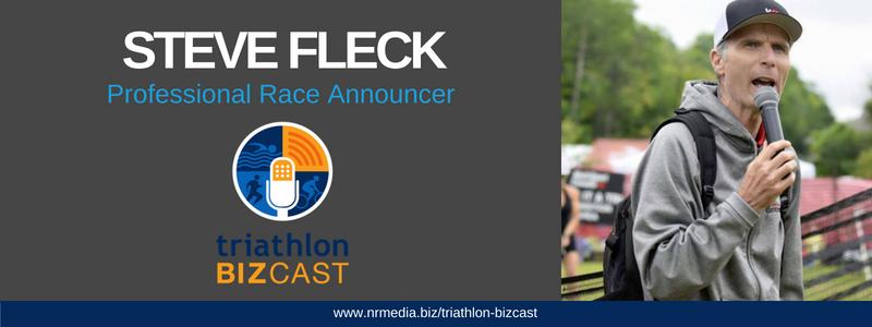 steve fleck professional race announcer