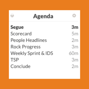 traction tools agenda