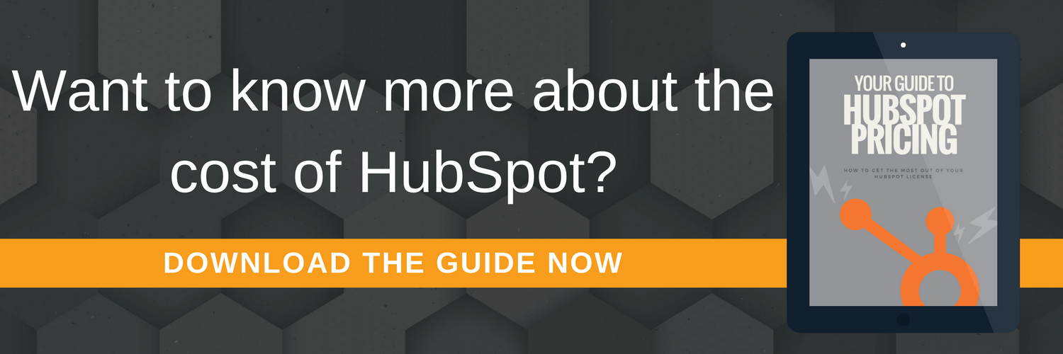 cost-of-hubspot-pricing